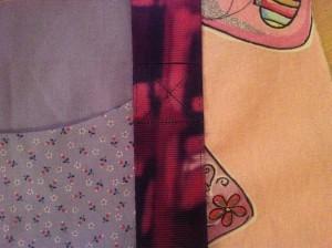 Detail Tasche nähen