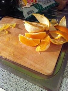 Orangen Cupcakes
