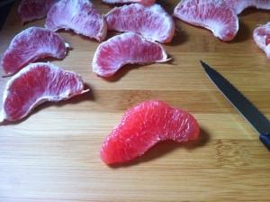Grapefruit filetieren