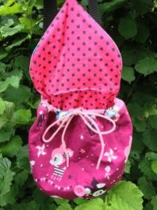 Stoffkombi Pink Kindergartentasche