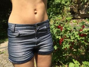 Kurze Jeans selbstgemacht
