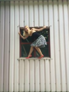 Rock im Fenster