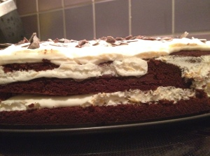 Mehrlagige Torte