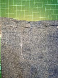 Jeans Reissverschluss einnähen Anleitung